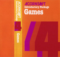 Acornsoft Introductory Package 4: Games