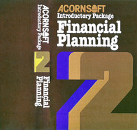 Acornsoft Introductory Package 2: Financial Planning