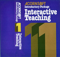 Acornsoft Introductory Package 1: Interactive Teaching