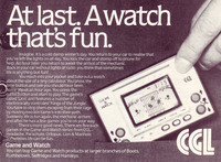 CGL: Game & Watch: At last, a watch that's fun (1981)
