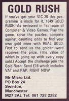 Mr. Micro: Gold Rush (1981)