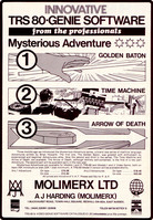 Molimerx: TRS 80 Mysterious Adventures (1981)