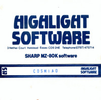 Highlight Software: Cosmiad